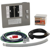 30 Amp Generator Transfer Switch Kit for 10-16 Circuits for Indoor Applications