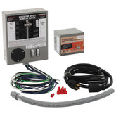 30-Amp Indoor Generator Transfer Switch Kit for 6-10 Circuits