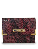 Nine West Small Metal Corner Bifold Wallet - Craisin Multi