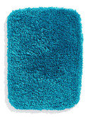 Distinctly Home Shag Bath Mat - Blue
