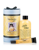 Philosophy birthday girl vanilla birthday cake gift set - No Colour