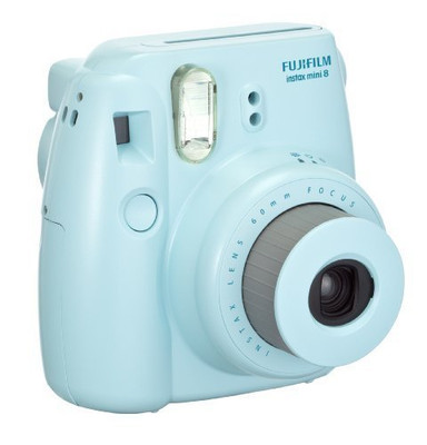 Fujifilm Instax Mini 8 Instant Film Camera - Blue