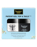 Butter London Patent-Gel Top & Tails Set - No Colour