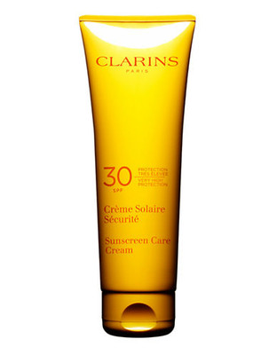 Clarins Sun Care Cream Very High Protection For Sun Sensitive Skin SPF 30 - No Colour