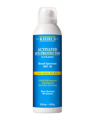 Kiehl'S Since 1851 Activated Sun Protector Spray Lotion for Body SPF 30 - No Colour - 100 ml