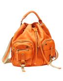 Lucky Brand Ventura Convertible Backpack - Tangerine