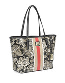 Anne Klein Printed Centre Stripe Perfect Tote - Multi Coloured