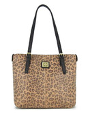 Anne Klein Perfect Tote Small  Shopper - Camel/Black
