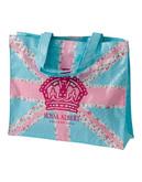 Royal Albert Pastel Union Jack Plasticised Shopping Bag - Multi-coloured