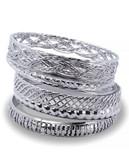 Guess Bay Exclusive Multi Bangle Set - Silver