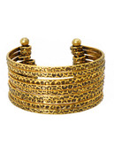 Bcbgeneration Gold Stacked Cuff - Gold