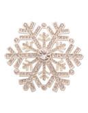 Jones New York Boxed Snowflake Pin - Silver