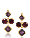Carolee Berry Chic Mini Chandelier Pierced Earrings - Multi-Coloured