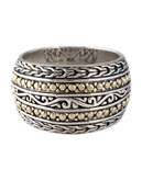 Effy Sterling Silver And 18 Kt. Yellow Gold Ring - Silver/Gold