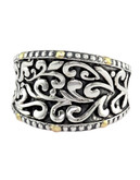 Effy 18K Yellow And Sterling Silver Ring - Silver