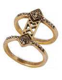 Lucky Brand Gold Tone  Ring - Gold