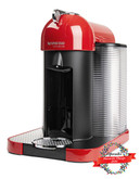 Nespresso VertuoLine with Aeroccino Milk Frother - Red