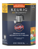 Keurig Timothys Breakfast Blend - No Colour
