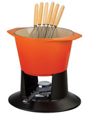 Le Creuset 1.7L Traditional Fondue - Orange