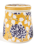 Denby Monsoon Storage Jar - Yellow