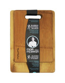 Mark Mcewan Mark McEwan by fresco 2-Pack Furled Bamboo Cutting Boards - Wooden