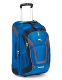 High Sierra Wheeled Backpack with Removable Daypack blue - Blue - 22
