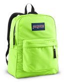 Jansport Superbreak Backpack - Fluorescent Green