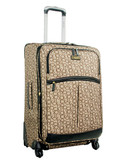 Calvin Klein Madison Signature 26 inch Suitcase - Khaki - 25