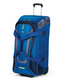 High Sierra 32 Inch Wheeled Duffel with Backpack Straps blue - Blue - 32