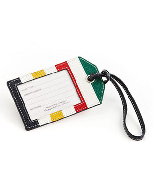Hudson'S Bay Company Atwell - Leather Luggage Tag - Multi colored