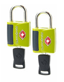 Samsonite Travel Sentry 2 Pack Key Lock - Lime