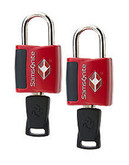 Samsonite Travel Sentry 2 Pack Key Lock - Red