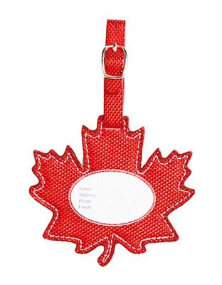 Heys Red Leaf Luggage Tag - Red