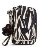 Kipling Pattie Wallet - Black Zebra