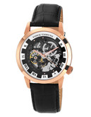"""Vince Camuto """"Executive"""" Watch in rose gold - Black"""