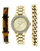 Anne Klein Womens Box set Standard AK1462TOST - Gold