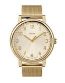 Timex Grande Classics Watch - Gold