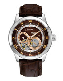 Bulova Bulova Men's Mechanical Watch - Brown