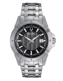 Bulova Bulova Mens Sport Dress Watch - Silver