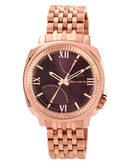 """Vince Camuto Rose Gold """"Veteran"""" Watch - Rosegold"""