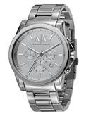 Armani Exchange Men's Round Watch - Silver