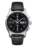Hamilton Mens Jazzmaster Maestro Auto Chrono Watch - Black