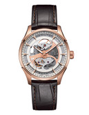 Hamilton Mens Jazzmaster 40mm Automatic H42545551 - Brown