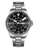 Hamilton Mens Khaki Pilot Auto Watch - Silver