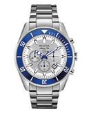 Bulova Bulova Marine Star Men's Chronograph Watch - Silver
