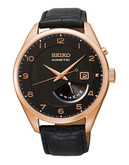 Seiko Seiko Mens Kinetic Watch - Black