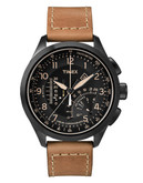 Timex Intelligent Quartz Linear Indicator Chronograph - Black