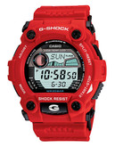 Casio Men's G-Shock Rescue Watch - Red