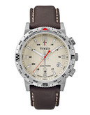 Timex Intelligent Quartz Compass Watch - Brown