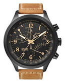Timex Men's T Series Racing Fly-Back Chronograph Watch - Tan